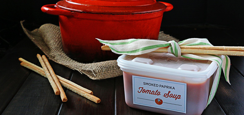 Sopa de tomate y páprika ahumada