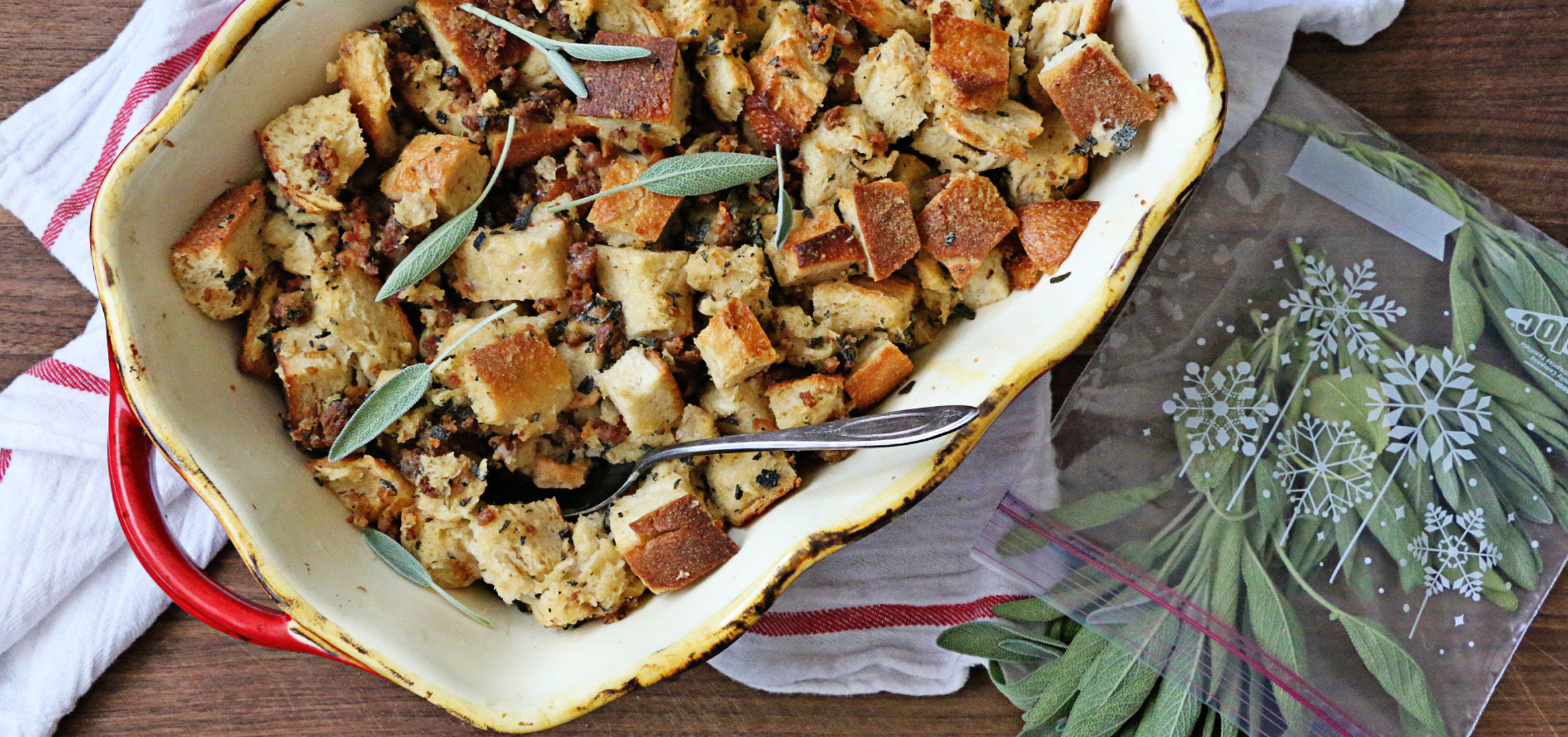 Sourdough And Sausage Stuffing
