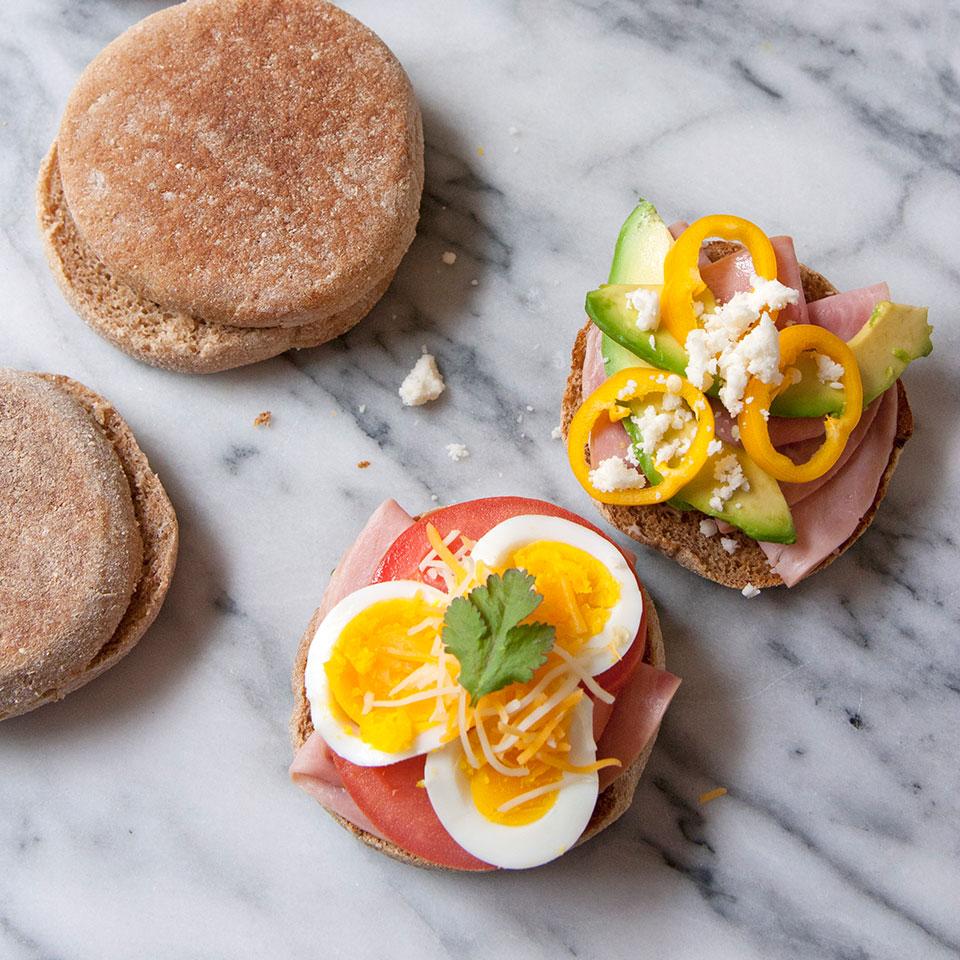 Sándwich al estilo del sudoeste para el desayuno