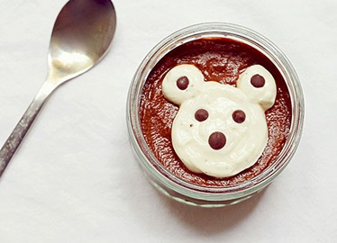 Pudding de patate douce au chocolat