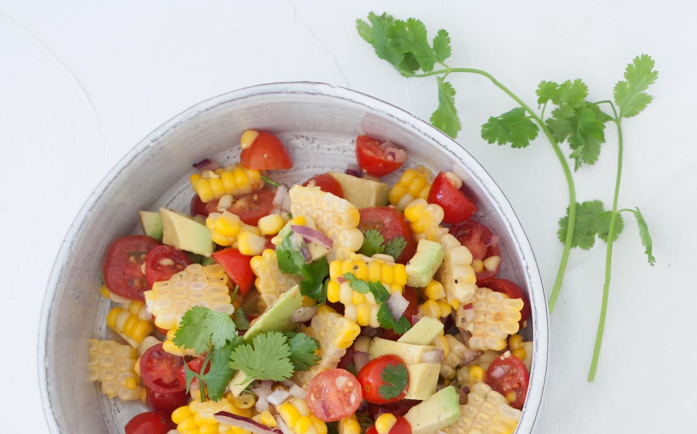 The Simplest Corn Salsa