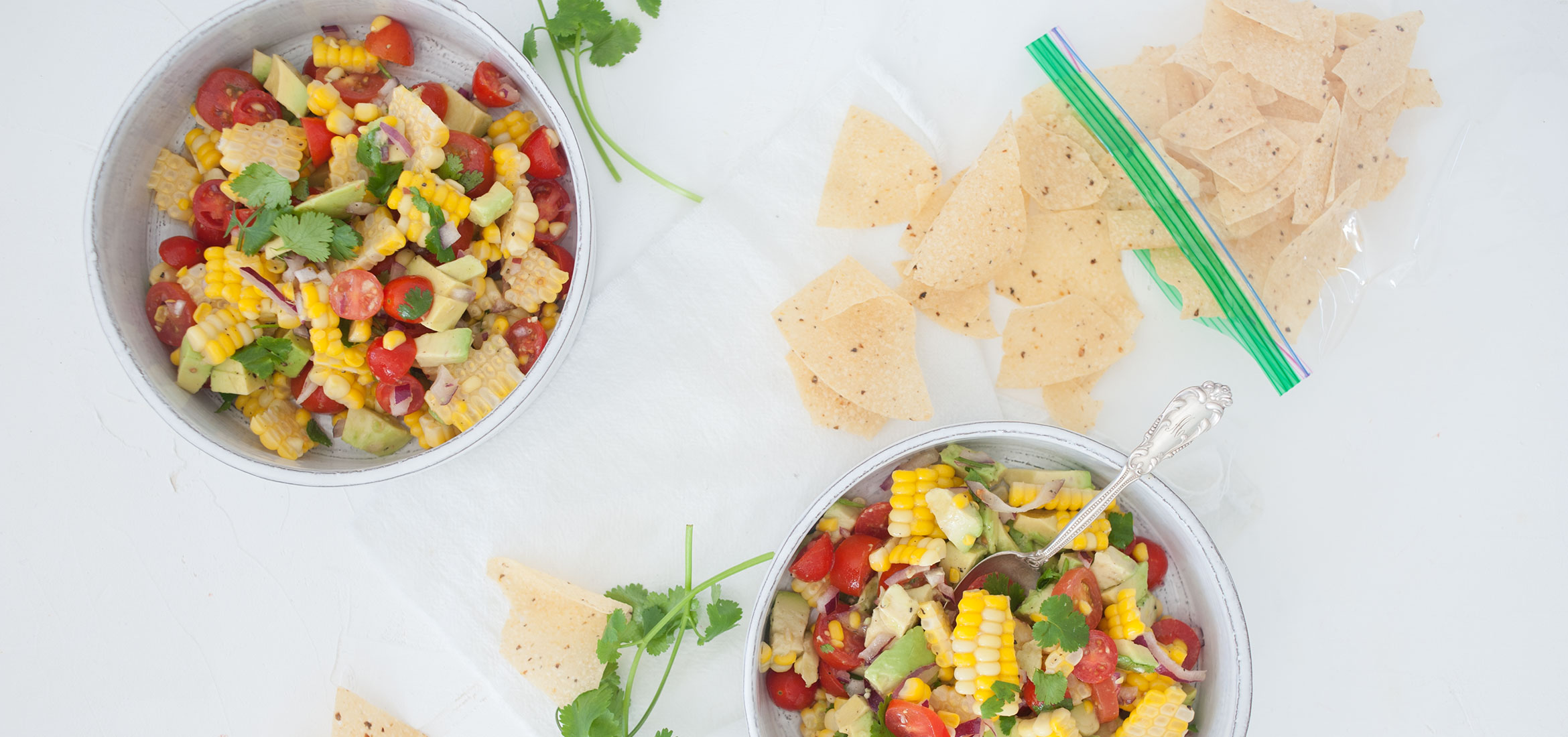 The Simplest Corn Salsa