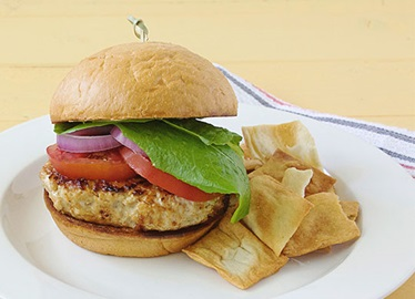 The Ultimate Turkey Burger