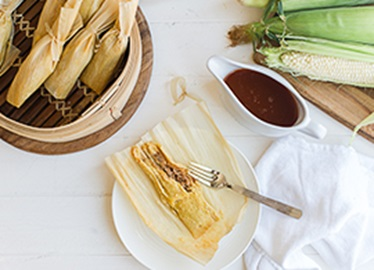 Tamales au porc traditionnels