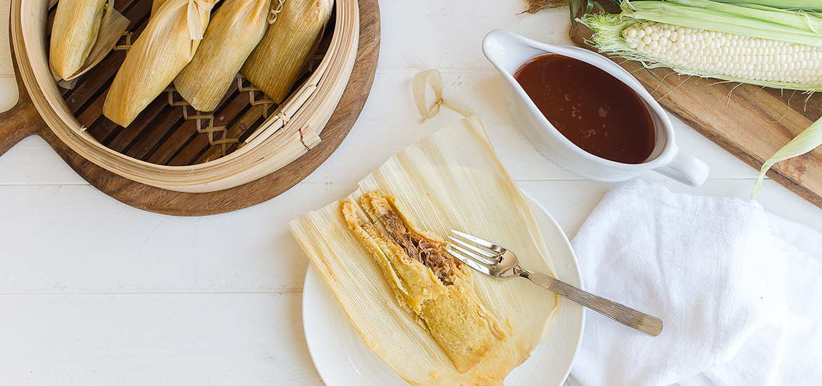 Traditional Pork Tamales