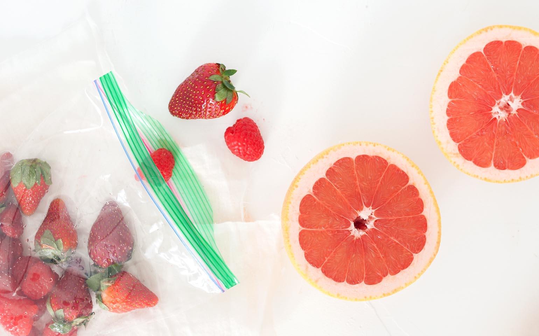 Very Berry Grapefruit Smoothie