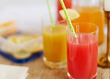 Ouragan sans alcool à base de jus frais