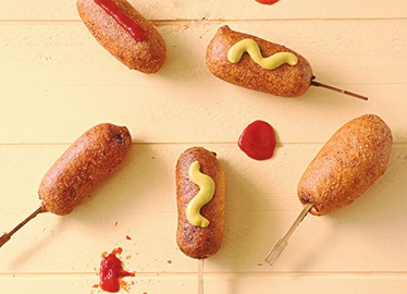 Ziploc® Bag Mini Corndogs