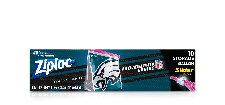 Ziploc 174 Nfl Philadelphia Eagles Ziploc 174 Brand Slider