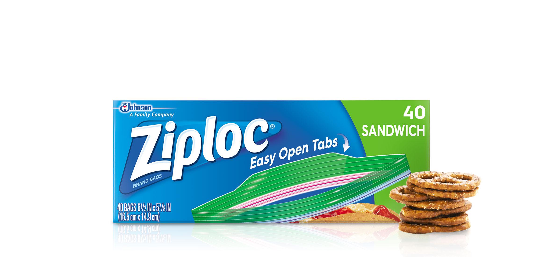 Ziploc Sandwich Bags Brand Sc Johnson
