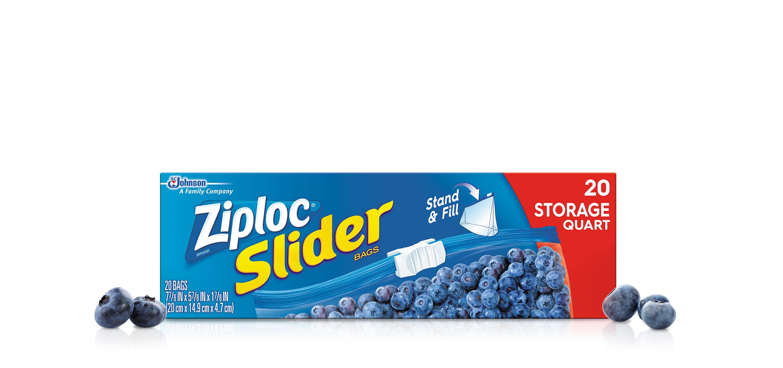 Moyens sacs d'emballage Slider