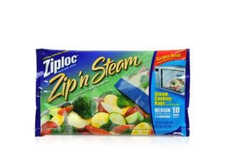 Zip'N Steam Cooking Bags