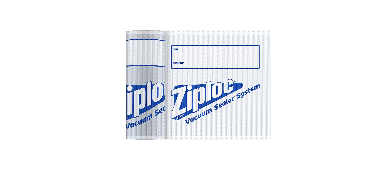 Rollo para sellado al vacío de 8'' Ziploc®