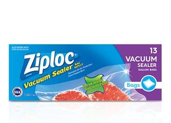 Bolsas de un galón para sellado al vacío Ziploc®