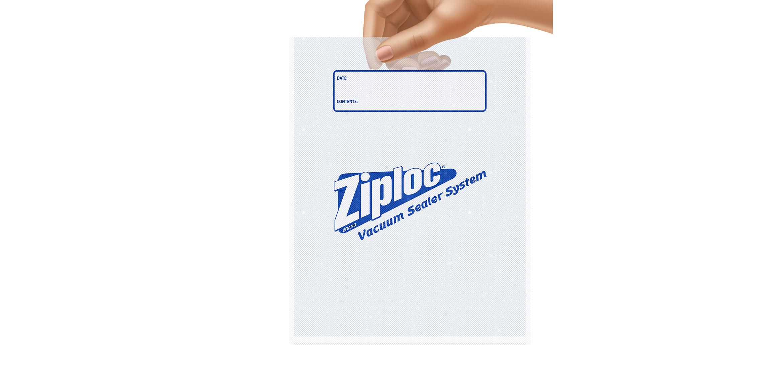 Ziploc® Brand Vacuum Sealer Gallon Bags