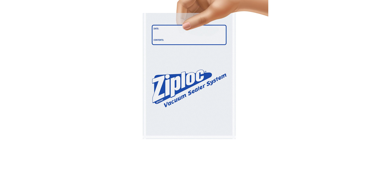 Ziploc® Brand Vacuum Sealer Quart Bags