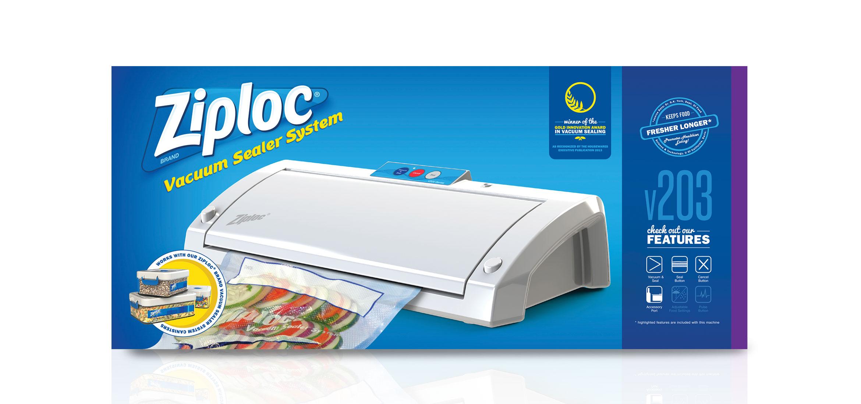 Ziploc Brand Vacuum Sealer V200 Series