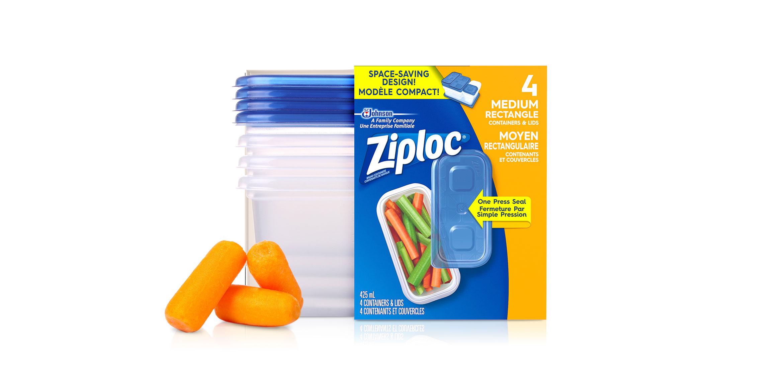 Ziploc Rectangle Bag