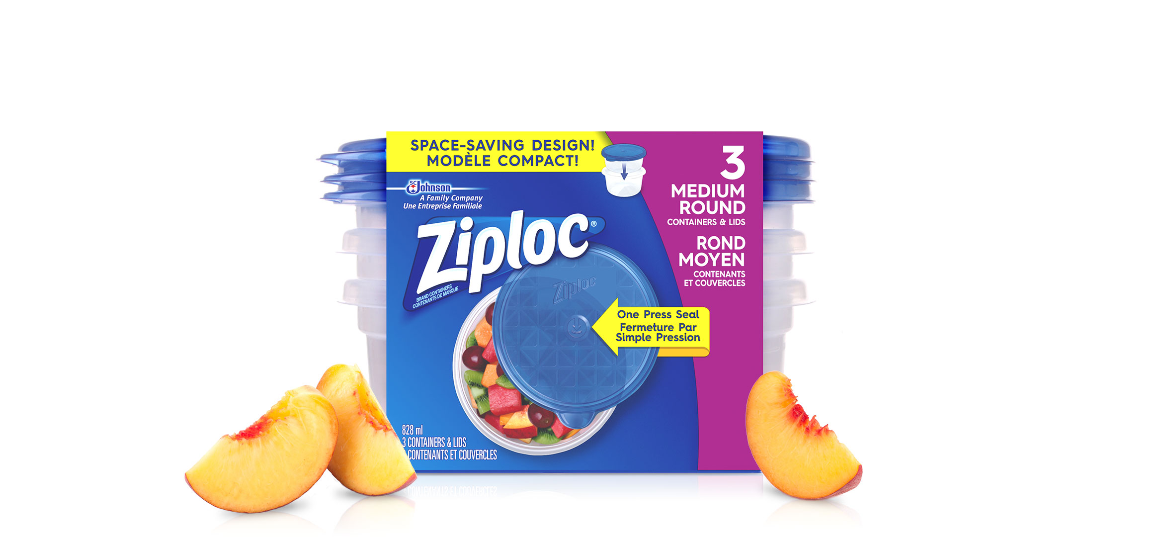 Ziploc Round Bag