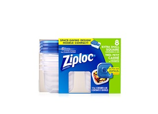 Ziploc Square Bag