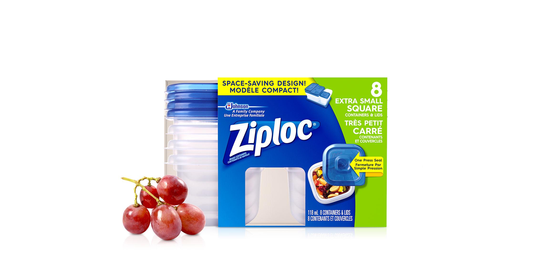 Ziploc Square Bag
