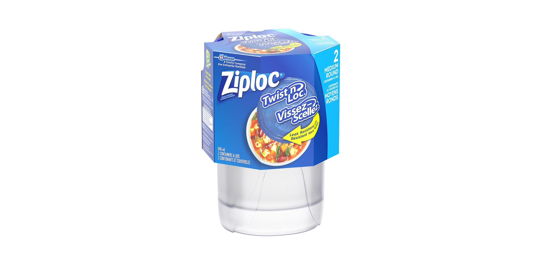 Ziploc Twist N Lock