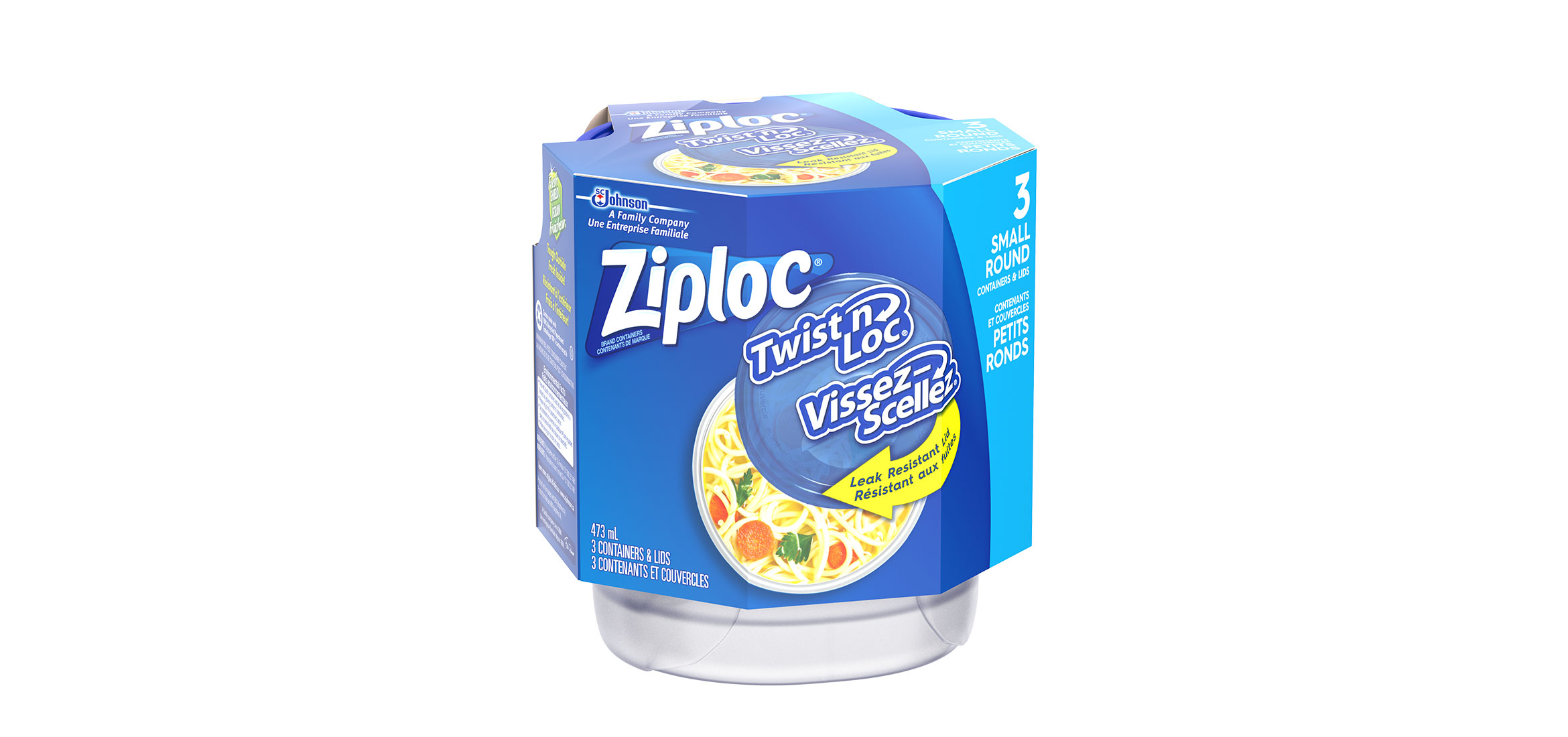 Ziploc Twist N Locks