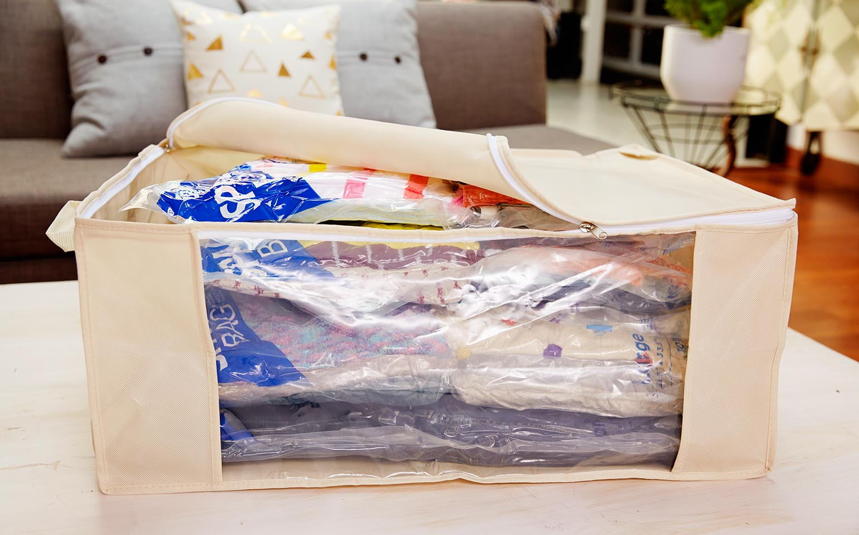 Space Bag® Variety Pack 4L Flat, 1 Jumbo Tote