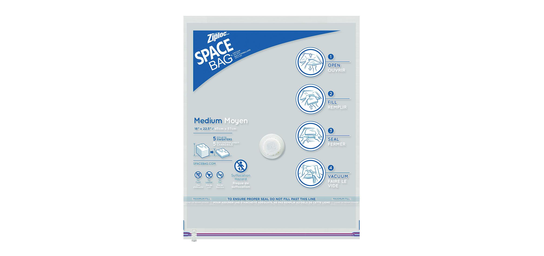 Space Bag Medium Flat