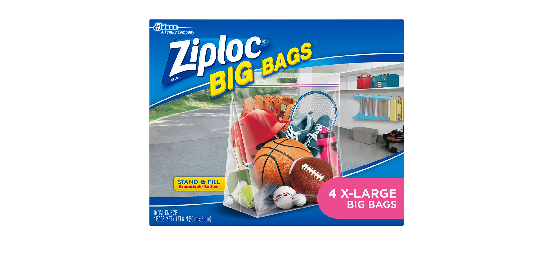 Ziploc 174 Big Bags Xl Ziploc 174 Brand Sc Johnson