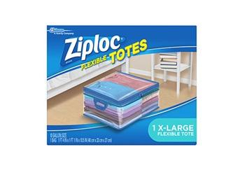 Ziploc 174 Flexible Tote Jumbo Ziploc 174 Brand Sc Johnson