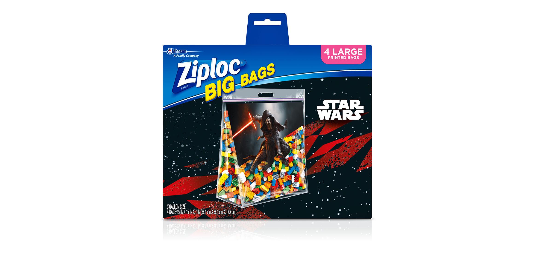 Ziploc® | Star Wars Big Bag / Large | Ziploc® brand | SC Johnson